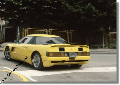 Ferrari 408 4x4 Memorabilia and Spy Photos 1988