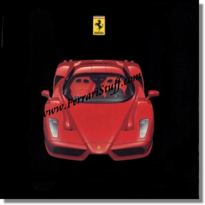 Ferrari Enzo Press Kit + Press Release + CD-Rom.