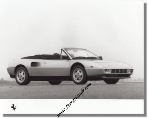 1989 ferrari mondial t cabriolet press photo. Black Bedroom Furniture Sets. Home Design Ideas