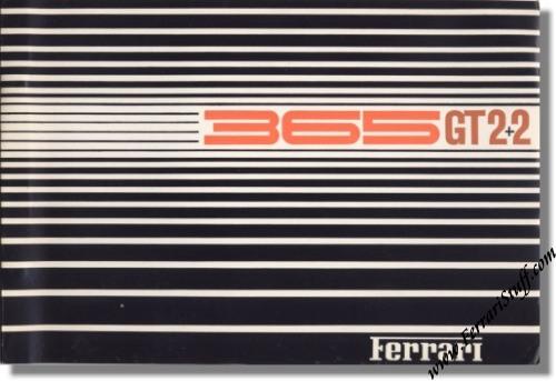 1968 Ferrari 365 GT 2+2 Parts Catalog 23/68