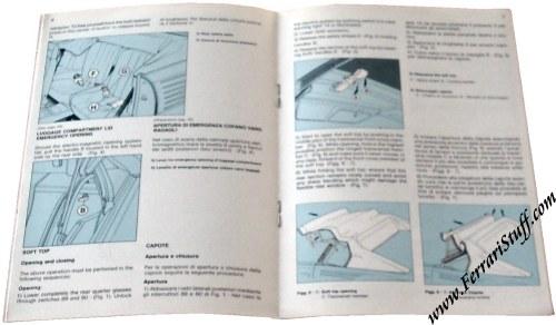 ferrari owners manuals. Black Bedroom Furniture Sets. Home Design Ideas