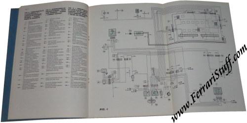 1986 Ferrari    GTB    and GTS Turbo    Wiring       Diagrams    Manual 43986   43986