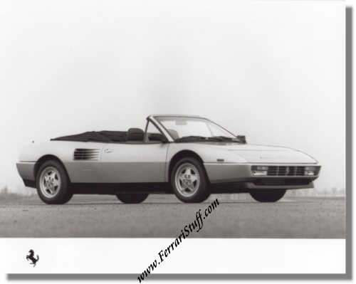 1989 ferrari mondial t press kit and media pack 545 89 in french. Black Bedroom Furniture Sets. Home Design Ideas