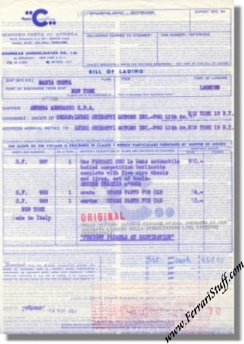 bill of lading pictures