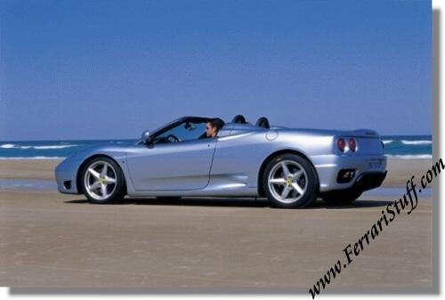 2000 Ferrari 360 Spider Press Kit Cd Rom 360spidercdrom