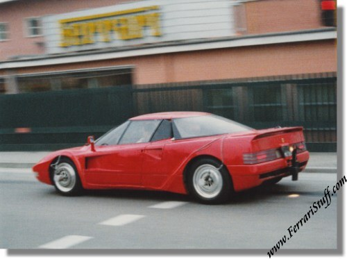 Vintage 1988 Ferrari 408 4x4 Spy Pictures