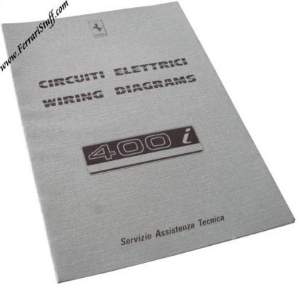 1983 ferrari 400i wiring diagrams manual 291/83 | 291/83, Wiring diagram