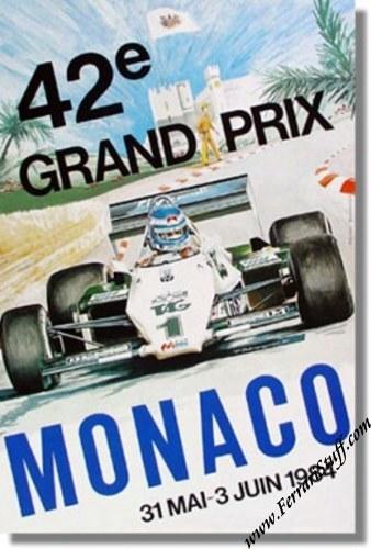 monaco gp map. Original 1984 Monaco GP Race