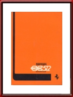 1976 Ferrari BB512 Owners Manual 130/76