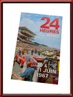 1967 Le Mans 24 Hours Flyer - Vintage Original