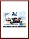 Original 2014 24 Hours of Le Mans Poster