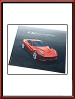 2012 Ferrari F12 Berlinetta Sales Brochure 4272/12 in Italian and English