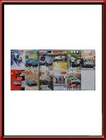 Set of 11 original Mille Miglia Posters 1993 - 2007